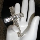 GORGEOUS RHINESTONE CROSS PENDANT!!