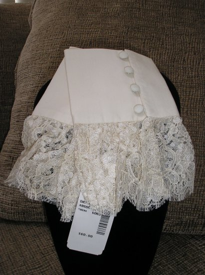 "LACEY BLOUSE ""CUFFS"" from SAKS FIFTH AVENUE - BRAND NEW"