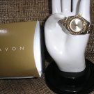 "AVON ""Let's Talk"" Watch Silver/Gold tone with Rhinestones - BRAND NEW!"