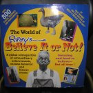 The World of Ripley&#39;s Believe It or Not TABLE BOOK by Julie Mooney!!