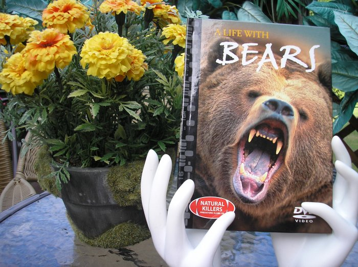 NATURAL KILLERS - PREDATORS CLOSE-UP Series: A LIFE WITH BEARS DVD VIDEO and BOOK!