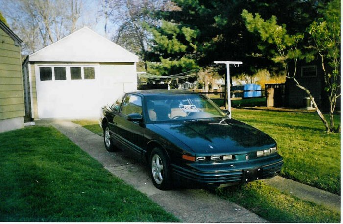 1995 Oldsmobile Cutlass Supreme 2 door coupe - TEAL - NICE - CLEAN!