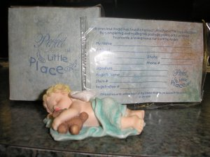 GANZ PERFECT LITTLE PLACE ANGEL FIGURINE - #PL108!