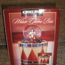 CHRISTMAS WATER GLOBE BOX - LITTLE DRUMMER BOY by KIRKLAND SIGNATURE - BRAND NEW IN THE BOX!