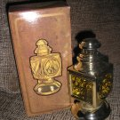 "AVON VINTAGE AFTER SHAVE/TALC DECANTER - ""AUTO LANTERN"" - NEW IN ORIGINAL BOX!"