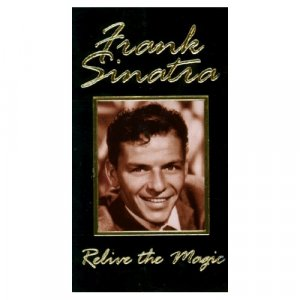 FRANK SINATRA - RELIVE THE MAGIC VHS SET - BRAND NEW!