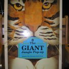 THE GIANT JUNGLE POP-UP-Animals of the Endangered Rain Forest OUT-OF-PRINT BOOK by Faulkner&Lambert!