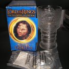 "LORD OF THE RINGS ""STRIDER"" LIGHT UP GLASS GOBLET BURGER KING COLLECTIBLE 2001- BRAND NEW IN BOX!"