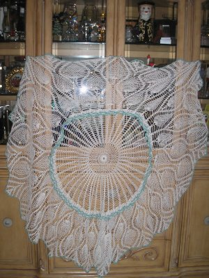 CROCHET FREE ROUND TABLECLOTH – Only New Crochet Patterns