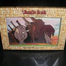 DISNEY'S JUNGLE BOOK 35th ANNIV COMMEMORATIVE PIN SET - MOWGLI & COLONEL HATHI - BRAND NEW IN BOX!