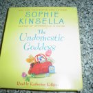 THE UNDOMESTIC GODDESS by SOPHIE KINSELLA (AUDIO CD) BOOK!