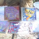 NOW THAT'S WHAT I CALL MUSIC! - 5 CD'S - VOLUME 6,7, 8, 9 AND 20 - CHART TOPPING HITS (AUDIO CD's)!