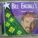 HERE'S YOUR CHRISTMAS ALBUM - BILL ENGVALL - REDNECK HUMOR - CD!
