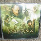 THE LORD OF THE RINGS: THE RETURN OF THE KING by HOWARD SHORE - CD!