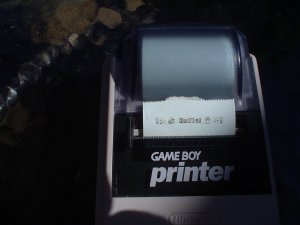 NINTENDO GAME BOY MGB-007 PRINTER in excellent condition - compatible with 7 models!