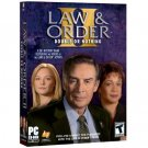 LAW AND ORDER 2: DOUBLE OR NOTHING COMPUTER GAME by VIVENDI UNIVERSAL for WINDOWS - BRAND NEW!