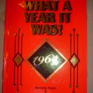 WHAT A YEAR IT WAS! 1964 (HARDCOVER) BOOK by Beverly; Rosenthal Cohn, Laurie Cohn!