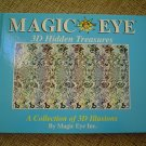 MAGIC EYE 3D HIDDEN TREASURES (Hardcover) by Magic Eye Inc.!