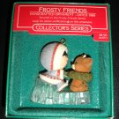 FROSTY FRIENDS HALLMARK 1986 ORNAMENT #7 ESKIMO & REINDEER #QX405-3 with Original Box!