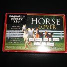 MAGNETIC POETRY HORSE LOVER MAGNETIC POETRY KIT - 247 PIECES!