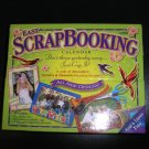 EASY SCRAPBOOKING CROP-A-DAY: 2008 DAY-TO-DAY CALENDAR ~ Accord Publishing - NEW!