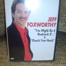 JEFF FOXWORTHY - YOU MIGHT BE A REDNECK IF... / CHECK YOUR NECK DVD!
