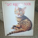 MY CAT RECORD BOOK (Hardcover) ~ Rachael Hale!