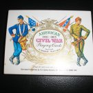 AMERICAN CIVIL WAR 1861-1865 PLAYING CARDS by H. FOURNIER - NEW!