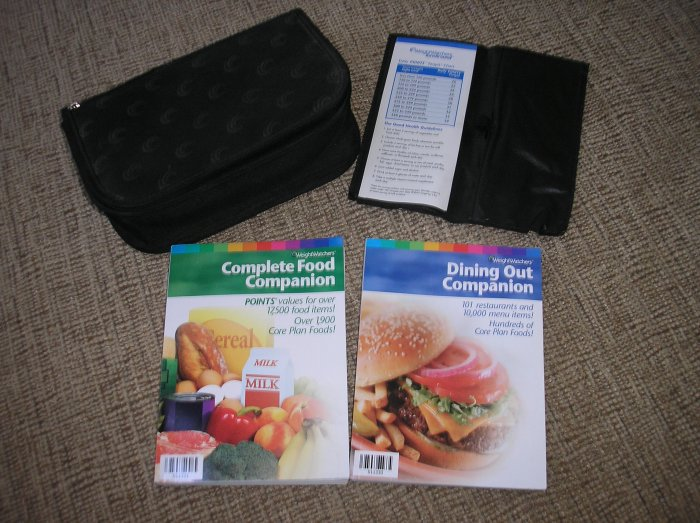 WEIGHT WATCHERS STARTER KIT - MUST HAVE - COMPLETE FOOD COMPANION & DINING OUT GUIDE - BRAND NEW!