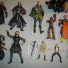 LOT OF LORD OF THE RINGS AND STAR WARS FIGURINE COLLECTIBLES!