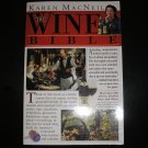 THE WINE BIBLE PAPERBACK BOOK by KAREN MACNEIL - THE PERFECT GIFT FOR WINE ENTHUSIASTS OF ANY LEVEL!