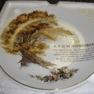 AVON 5TH ANNIVERSARY PLATE - 1994 - THE GREAT OAK - BRAND NEW!