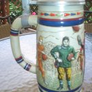 AVON GREAT AMERICAN FOOTBALL LIDDED STEIN - LIMITED EDITION - CERAMARTE - 1983!