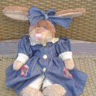 BOYDS BEARS PLUSH HARE LUCILLE - TJ'S BEST DRESSED COLLECTION 1997!