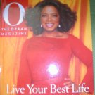 O THE OPRAH MAGAZINE: LIVE YOUT BEST LIFE HARDCOVER BOOK by AMY GROSS!