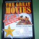THE GREAT MOVIES: LIVE (POP-UP BOOK) -HARDCOVER by MAXIM JAKUBOWSKI & RON VAN DER MEER-BRAND NEW!