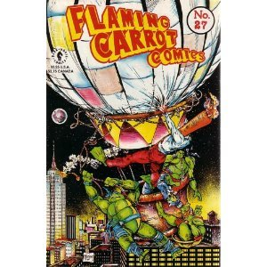 Flaming Carrot Comics, #27 [Comic] DARK HORSE COMICS (Author)!