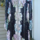 JUDITH ANN PLUS HEAVILY BEADED/SEQUIN SILK COAT/DRESS SET PLUS SZ 2X EVENING WEAR-OUT OF THIS WORLD!