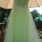 MORI LEE SEQUIN EMBELLISHED PROM DRESS SIZE 15/16 by MADELINE GARDNER BRAND NEW W/ TAG & BONUS!