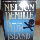 PLUM ISLAND CASSETTE AUDIO BOOK by NELSON DEMILLE - READ by DAVID DUKES!