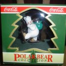 "COCA COLA CHRISTMAS ORNAMENT POLAR BEAR COLLECTION ""NORTH POLE DELIVERY"" 1994 - NEW IN BOX!"