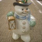 LENOX CHRISTMAS SNOWMAN FIGURINE with LANTERN!