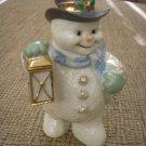 LENOX CHRISTMAS SNOWMAN FIGURINE with LANTERN!