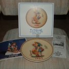 "GOEBEL M. J. HUMMEL ANNUAL CHRISTMAS PLATE - 1984 - ""LITTLE HELPER"" #277 - STILL IN ORIGINAL BOX!"