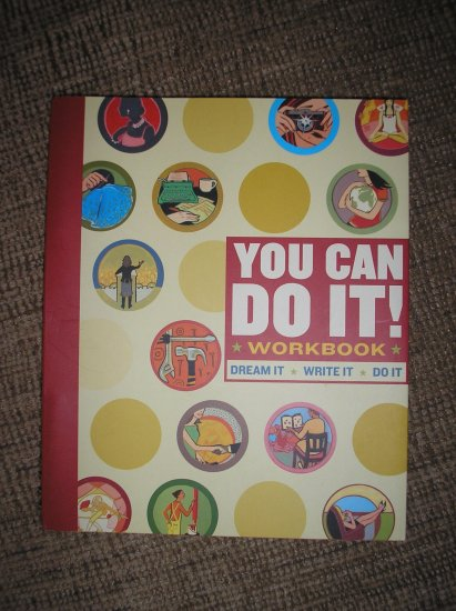 YOU CAN DO IT! WORKBOOK (DIARY) by Lauren Catuzzi Grandcolas!