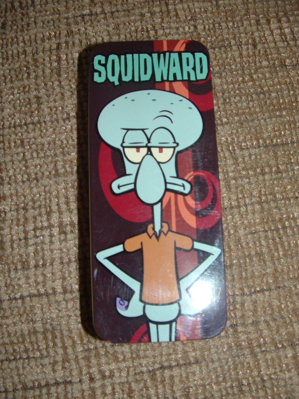 """SQUIDWARD Tentacles Collectible Kids Watch - Spongebob Suarepants - 4-WAY """"FLIP IT YOUR WAY""""!"""