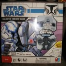 Star Wars: The Clone Wars Galactic Heroes Game - Clone Trooper Rex vs. Super Battle Droid by Hasbro!