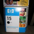 HP 15 GENUINE Black Ink Cartridge  HP part: C6615DN - BRAND NEW