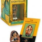 THE STORYTELLER BOOK & FIGURINE SET by MARY PACKARD - NEW!