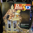 PUZZ 3D WOODPECKER HAVEN 232 PIECE FULLY DIMENSIONAL PUZZLE by MILTON BRADLEY WREBBIT HASBRO!